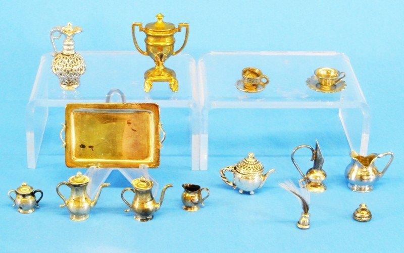Silver Miniature Table Articles
