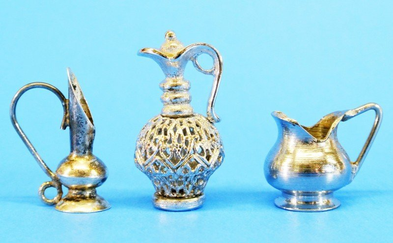 Silver Miniature Table Articles - 4
