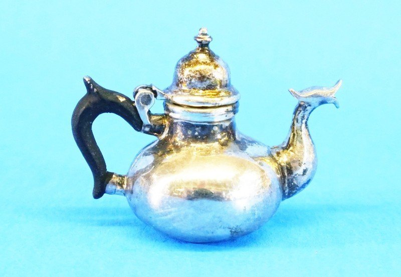 Obadiah Fisher Silver Kettle on Stand - 2