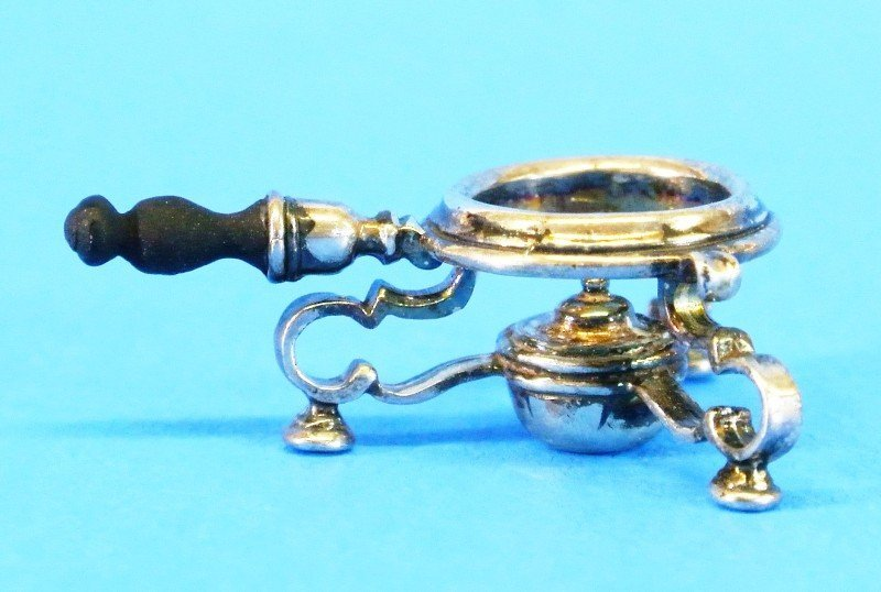 Obadiah Fisher Silver Kettle on Stand - 3