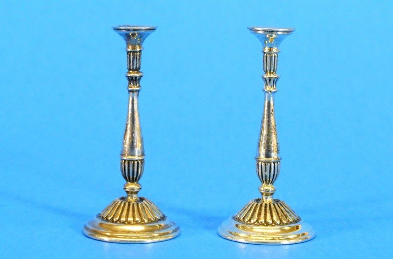 Acquisto Silver Miniature Candle Sticks and Others - 4