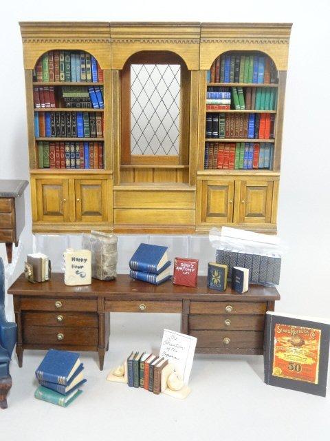 Dollhouse Miniature Library - 3