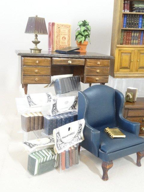 Dollhouse Miniature Library - 4