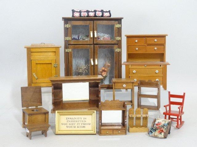 Dollhouse Miniature Furniture Hofferbert