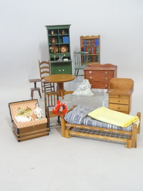 Dollhouse Miniature Country Furniture