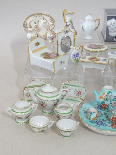 Dollhouse Miniature Dish Sets - 2