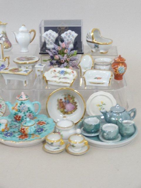 Dollhouse Miniature Dish Sets - 3