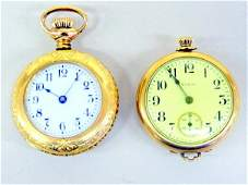 Two Ladies Pocket Watches