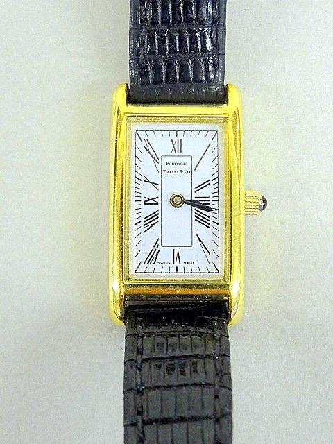 Tiffany Portfolio Lady's Watch