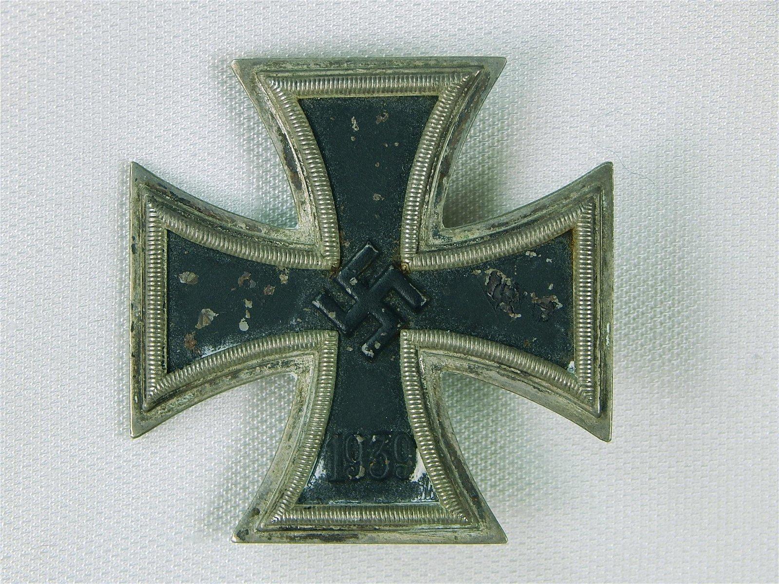 German Germany Nazi WW2 Iron Cross 1 Class Medal Order