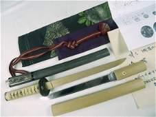 Antique Japan Japanese Signed Blade Tanto Knife