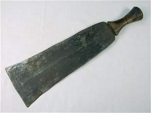 Antique Vintage Africa African Short Sword Large Knife
