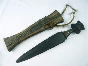 Antique North African Africa Sword Fighting Knife