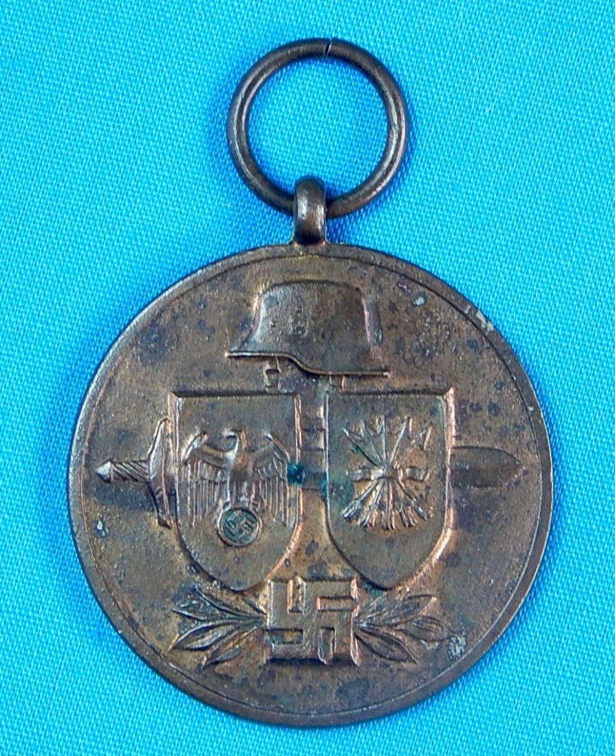 German Germany WWII WW2 Spanish Blue Devision Medal - 2