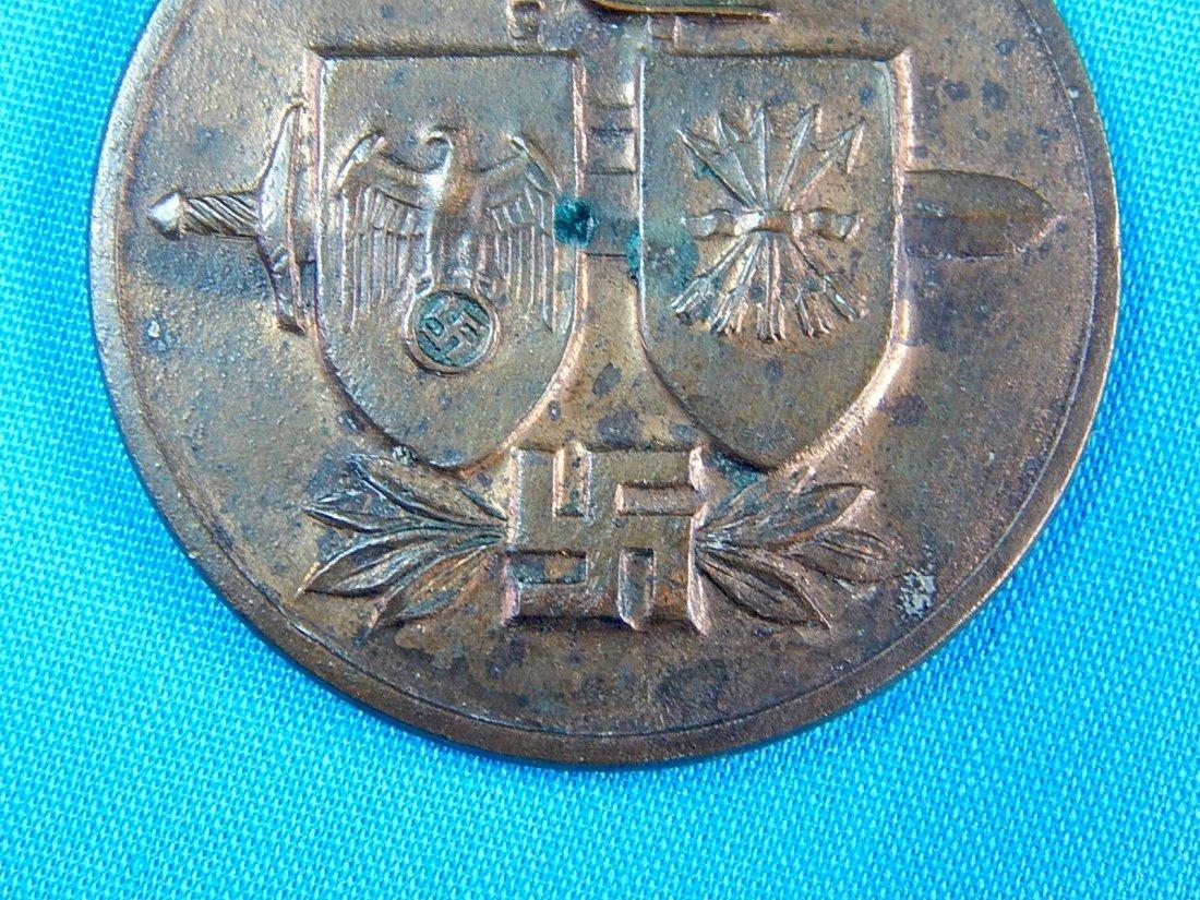 German Germany WWII WW2 Spanish Blue Devision Medal - 6