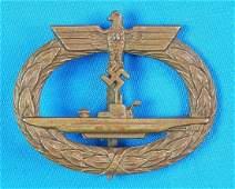 German Germany WW2 U-Boat Schwerin Berlin Badge Pin
