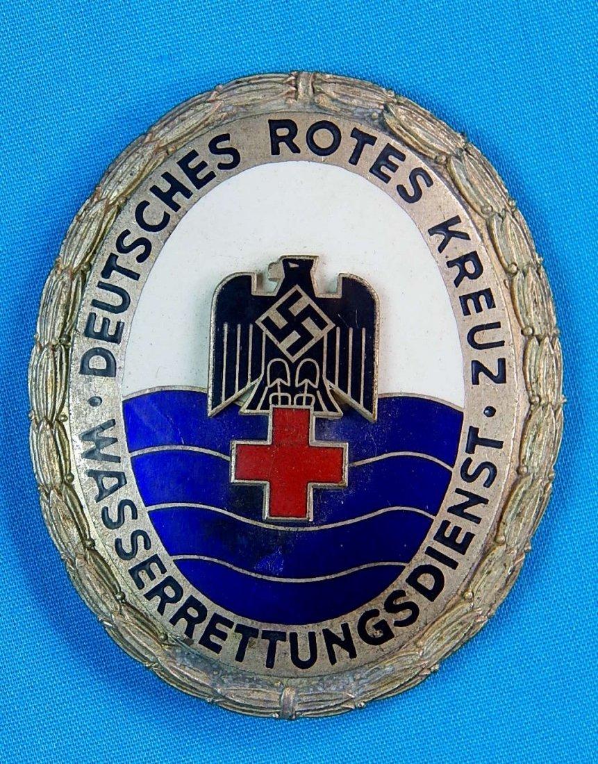 German Germany WW2 Red Cross Enameled Badge Pin