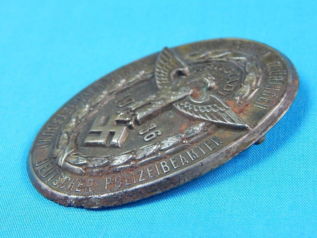 German Germany WWII WW2 1936 Nazi Eagle Badge Pin Medal - 4
