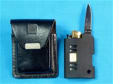 AL MAR Japan Limited Folding Pocket Knife Lighter