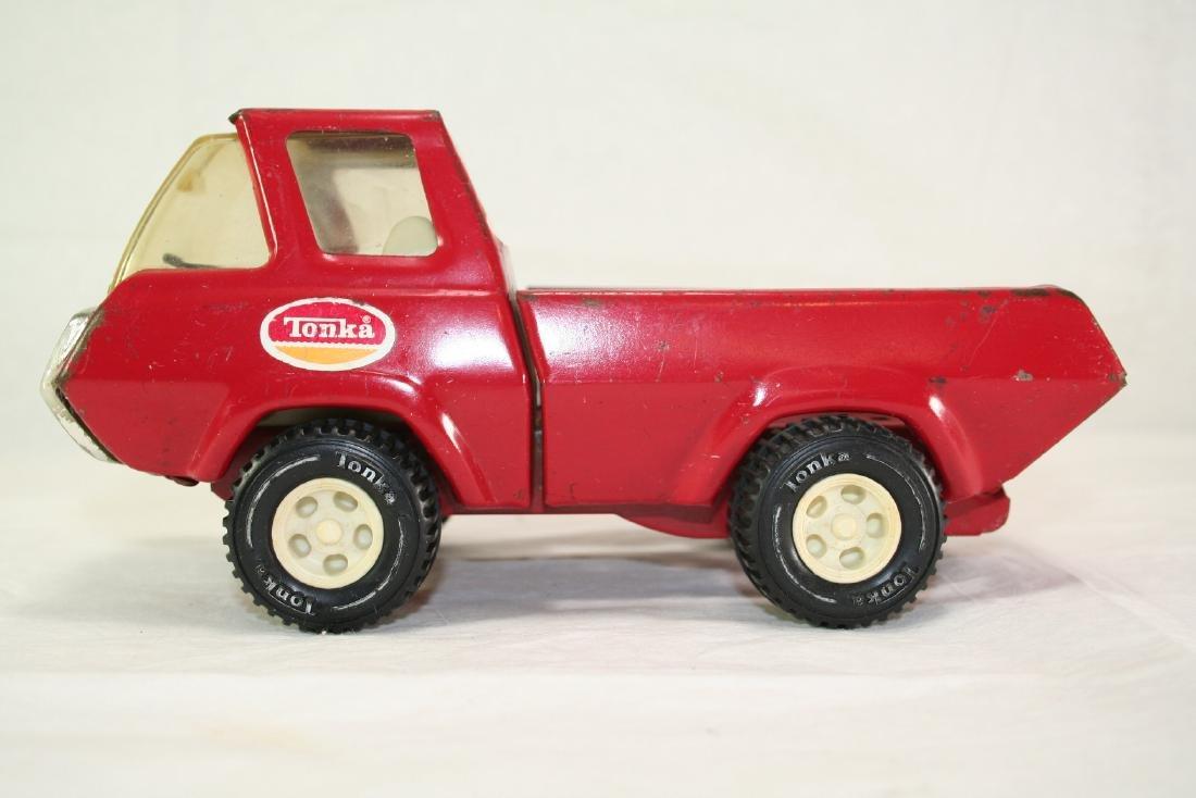 Tonka Toys Red Pickup Truck