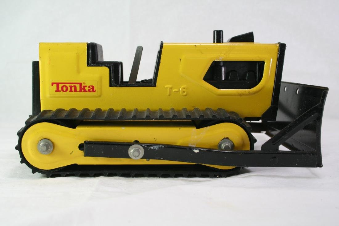 Tonka Toys Yellow Bulldozer