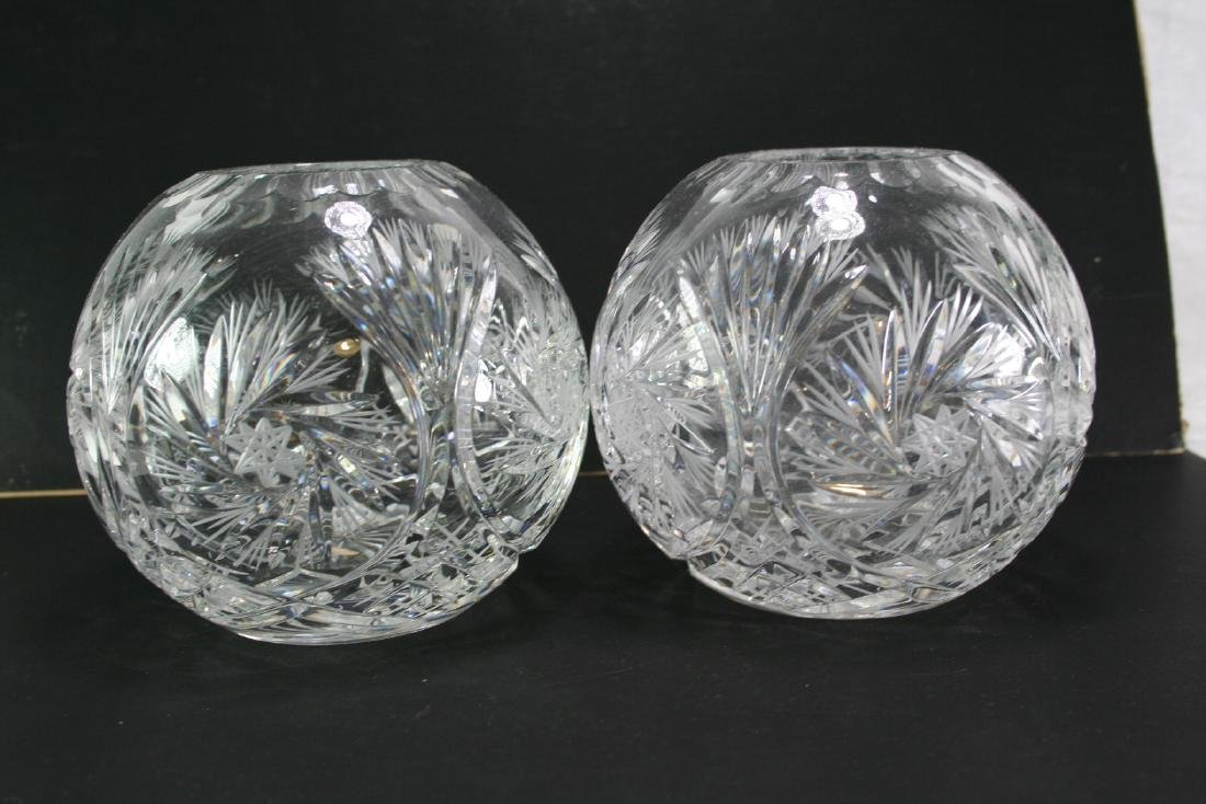 Pair of Glass Jars, Made in Poland
