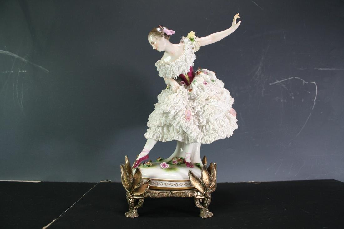 Porcelain Figure of a Dancing Lady