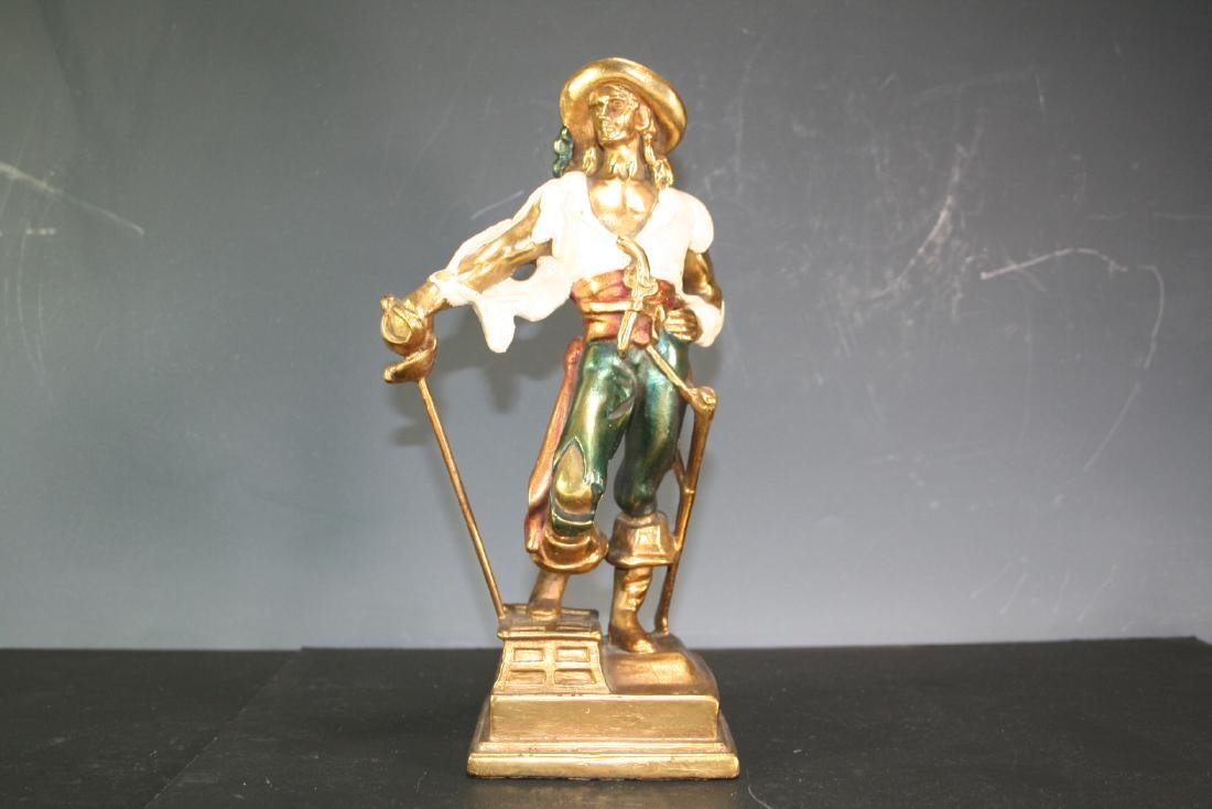 Porcelain Figurine of Captain Kidd