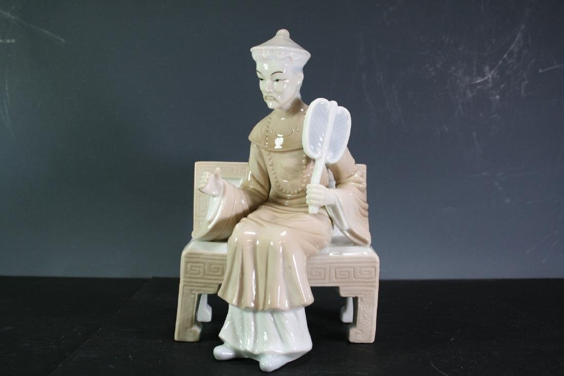 Asian Porcelain Figurine of an Official