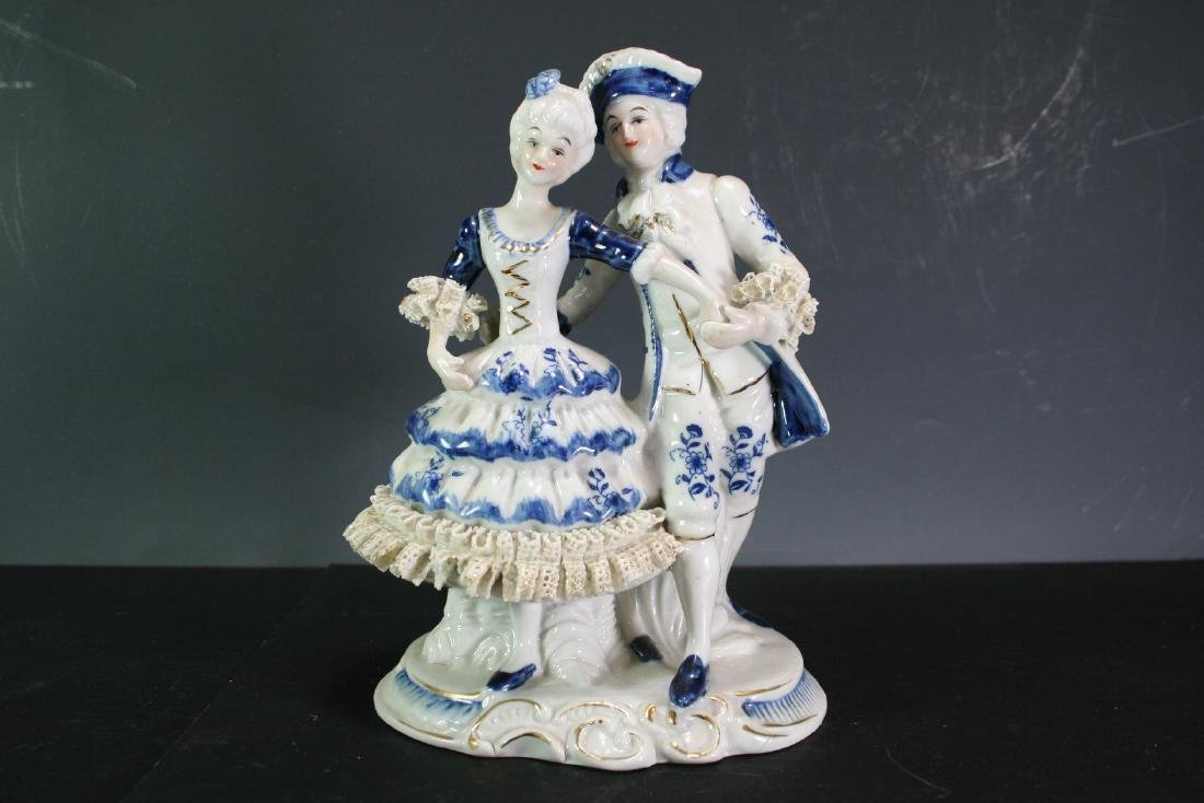 Porcelain Figurines of a Couple