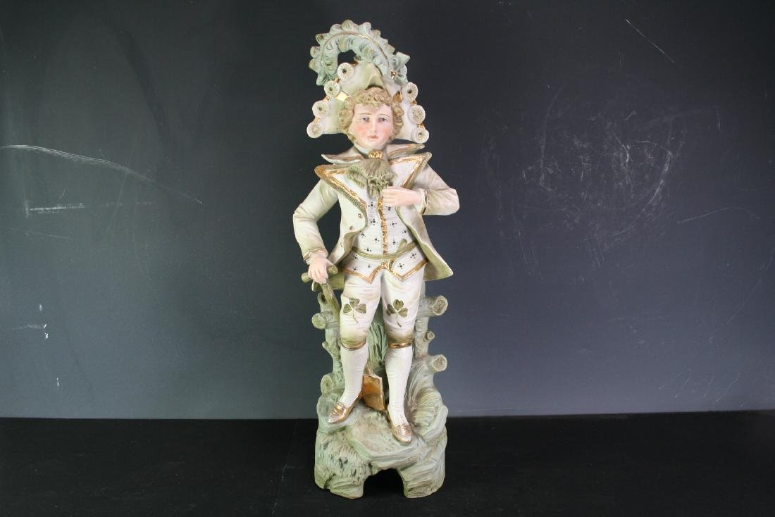 Porcelain Figurine of a Gentleman