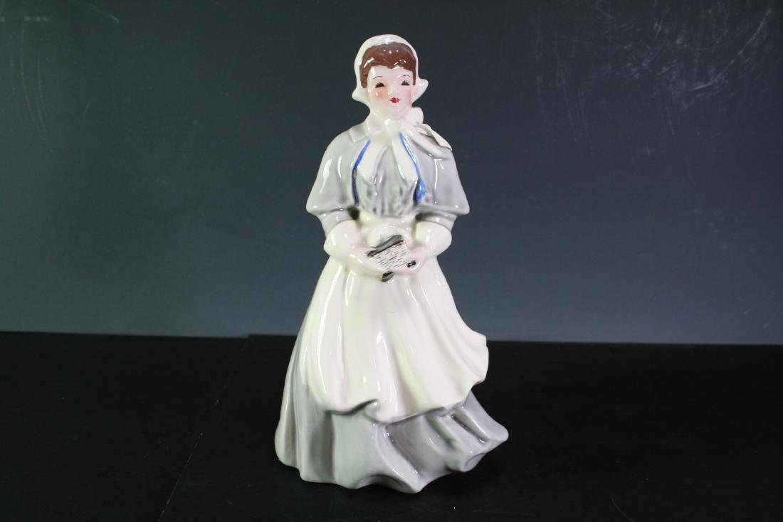 Porcelain Figurine of a Lady