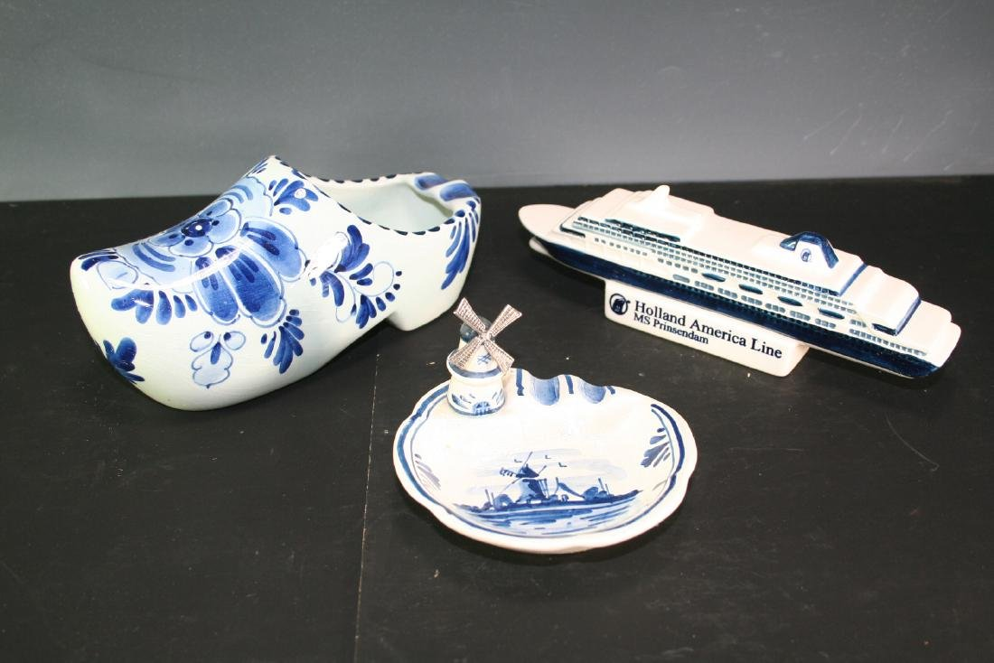 Group of Three Porcelain Items