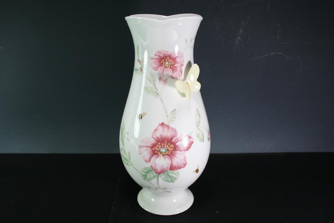 """Porcelain Vase by Lenox """"Butterfly Meadow"""""""