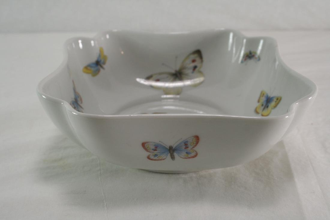 Famille Rose Butterfly Porcelain Bowl