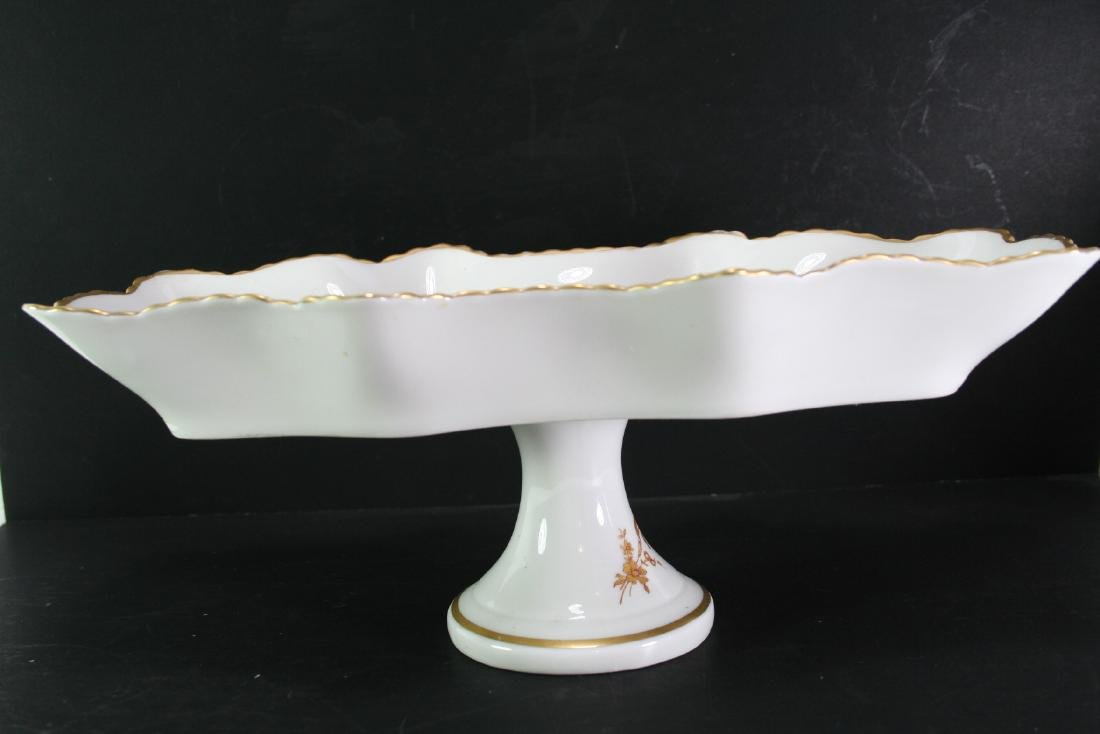 Gilt Porcelain Stem Tray