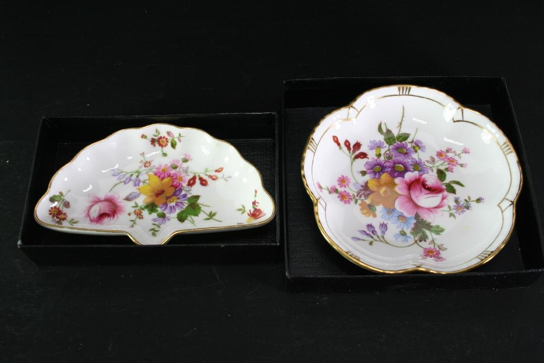 Group of Two Famille Rose Porcelain Dishes