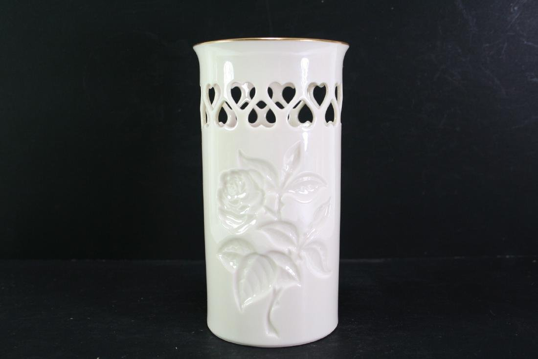 Lenox Gilt Openwork Vase