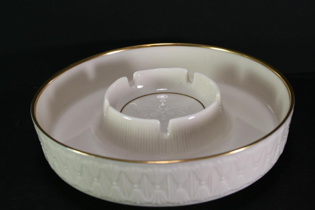 Lenox Gilt Porcelain Ash Tray