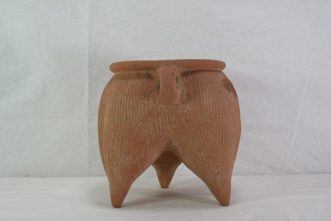 Neolithic Pottery Tri-Foot Jar