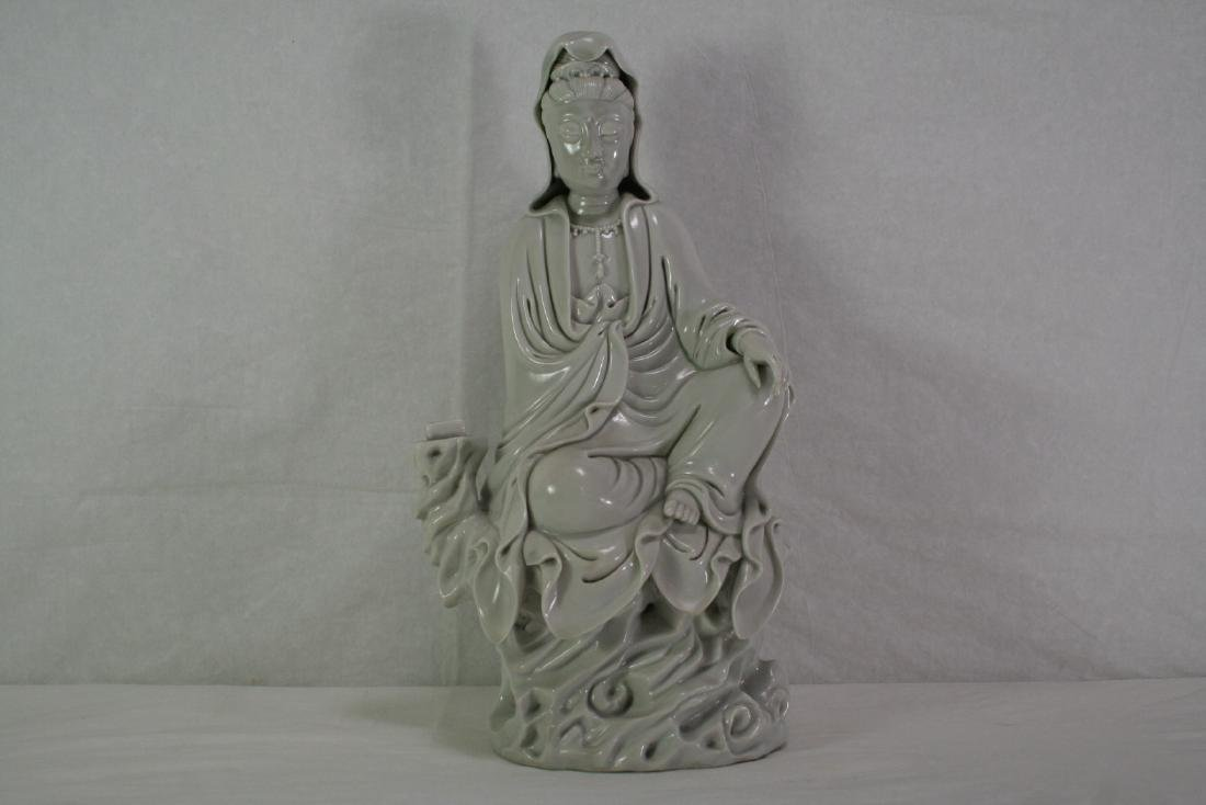 Dehua Porcelain Figure of Guanyin