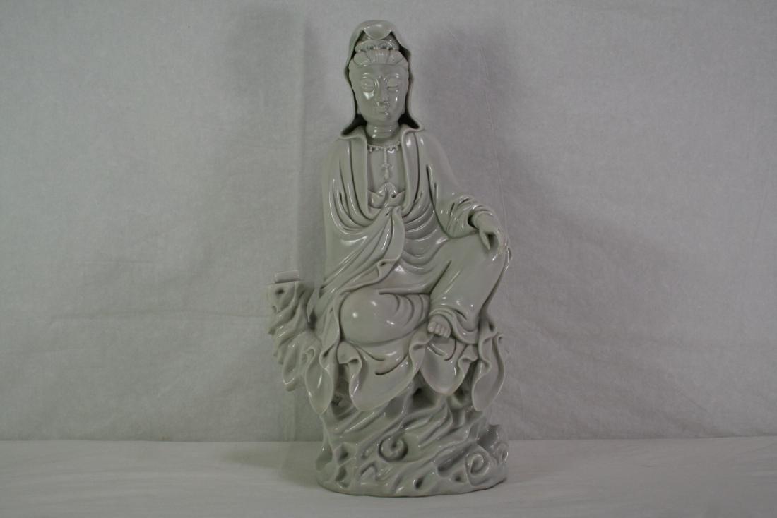 Dehua Porcelain Figure of Guanyin
