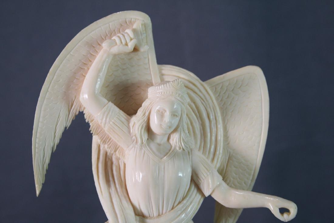 Bone Carved Religious Figures - 4