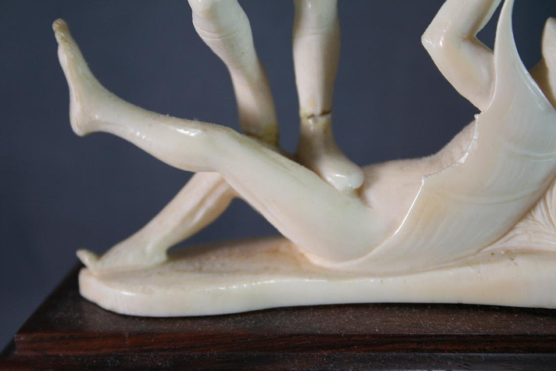 Bone Carved Religious Figures - 5