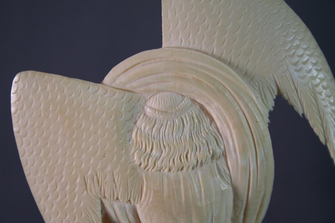 Bone Carved Religious Figures - 7