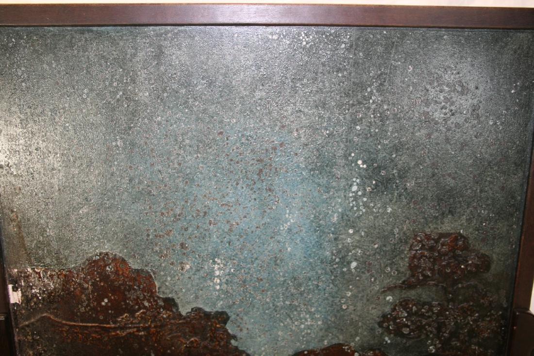 Chinese Hardwood Table Screen - 6