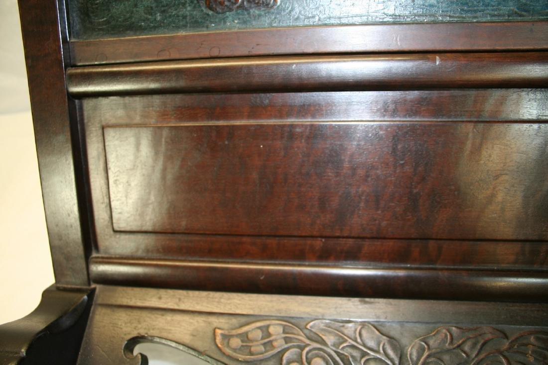 Chinese Hardwood Table Screen - 9