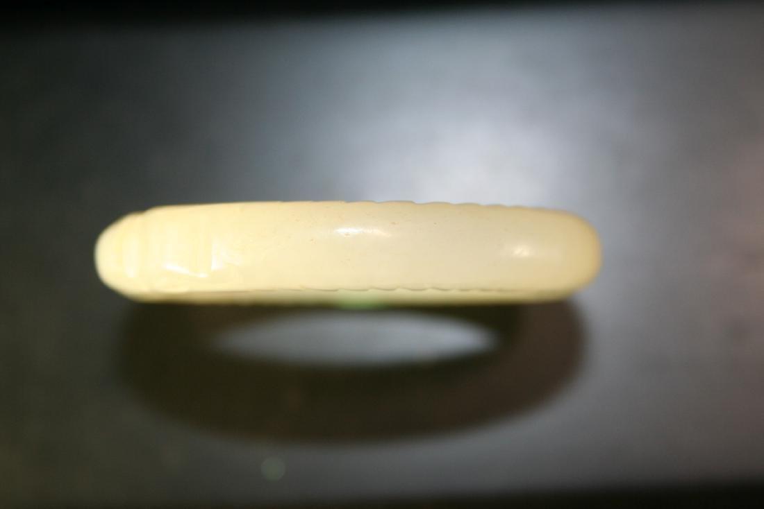 Chinese Jade Bangle Bracelet - 5