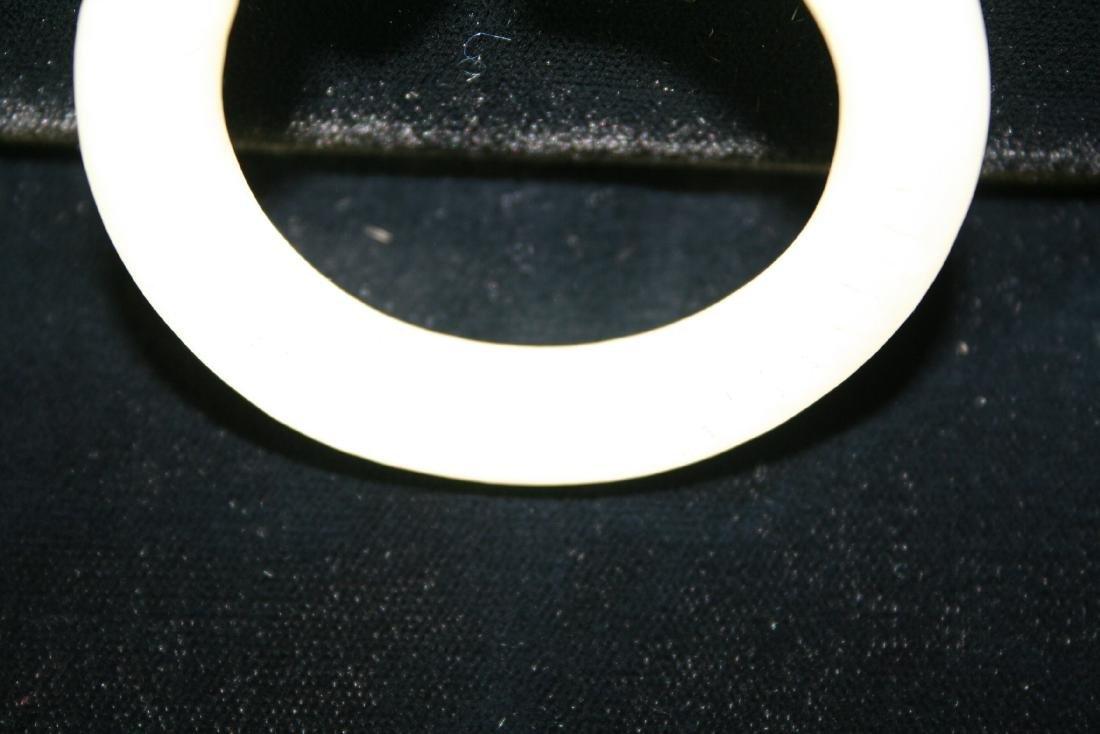 Chinese Jade Bangle Bracelet - 8