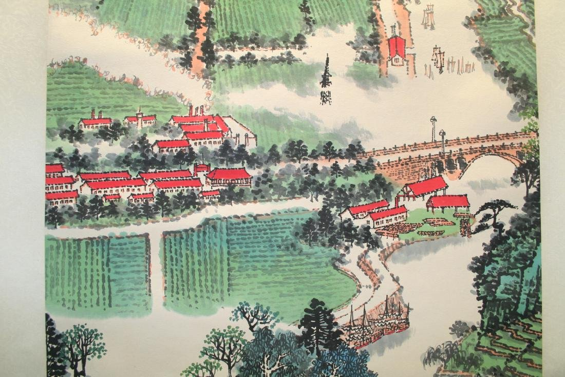 Chinese Hanging Scroll Ink on Paper Painting - 3
